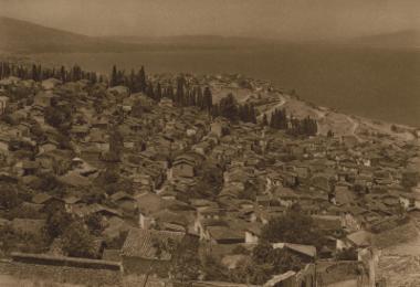 Η τουρκική συνοικία της Σμύρνης από το όρος Πάγος.