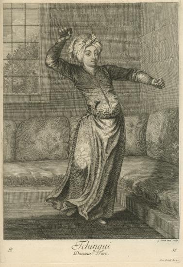 Οθωμανός χορευτής.