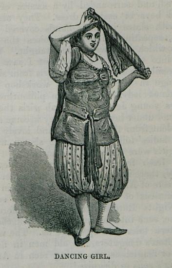 Νεαρή Αλγερινή χορεύτρια.