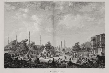 Ο Ιππόδρόμος της Κωνσταντινούπολης.
