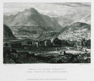 Το χωριό Χρισσό (αρχαία Κρίσσα) στον Παρνασσό.