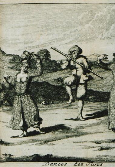 Οθωμανικός χορός.