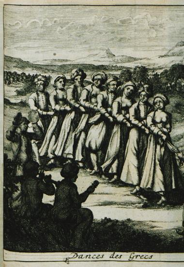 Ελληνικός χορός.