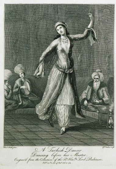 Οθωμανή χορεύτρια.