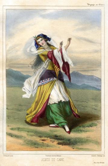Χορεύτρια του Καΐρου.