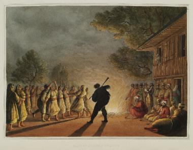 Χορός Βουλγάρων αγροτών.