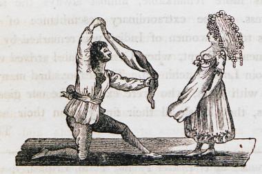 Τσιγγάνοι χορεύουν Μπαρίνα (παραδοσιακό ρώσικο χορό).