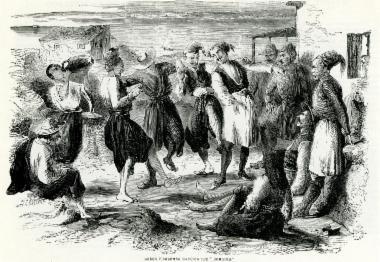 Έλληνες ψαράδες χορεύουν τον χορό