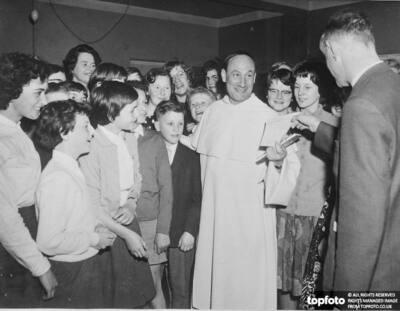 Nobel prizewinner Pater Pire