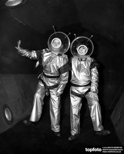 Dressed for their 'Trip to Mars'