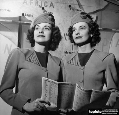 Twin Air Hostesses