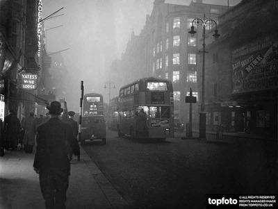 Fog in London