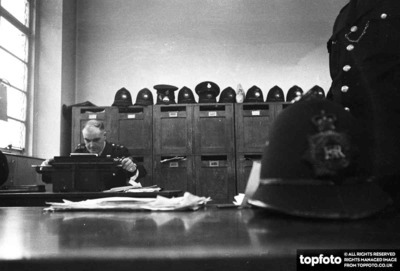 London's  overworked police force