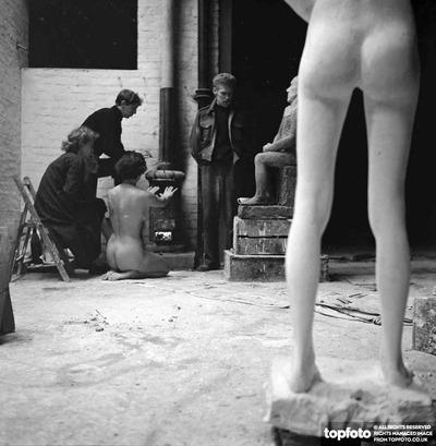 Art in the garage by Frank Monaco