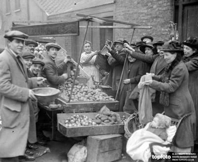 potatoe shortage