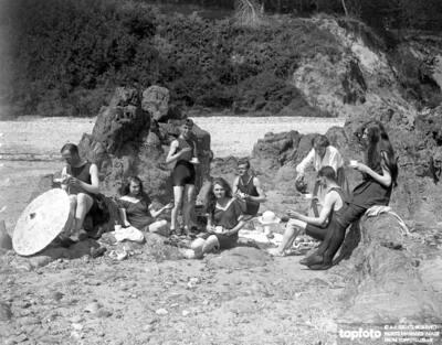 Bathing Picnic in Jersey