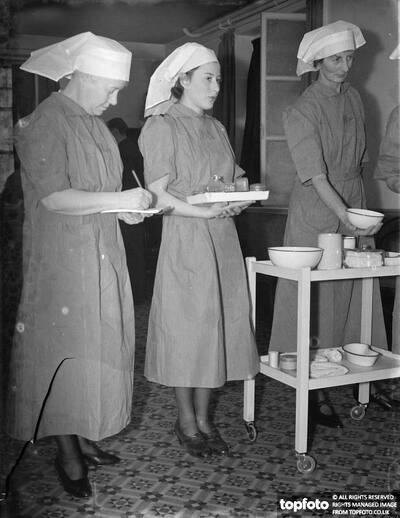 Nurses from the Nursing Auxiliaries