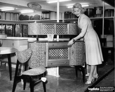 The furniture exhibition at Earls