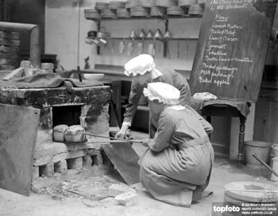 Cookery exihibition at the National