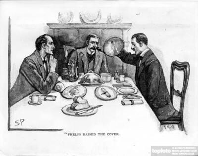Men Dining
