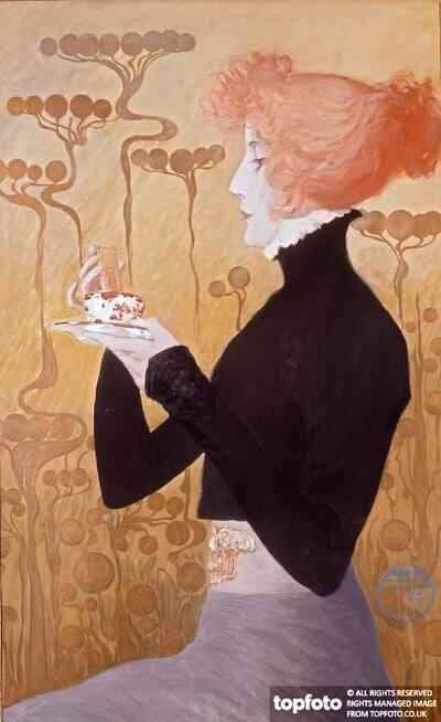 Sarah Bernhardt_x000D_ by Manuel Orazi (1898-1934)_x000D_ Celebrity