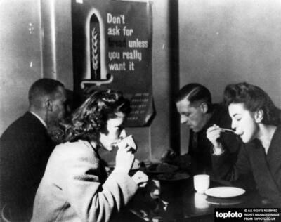 Restaurant in WWII