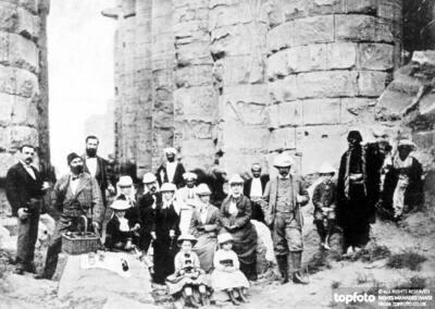 Picnic at Karnak