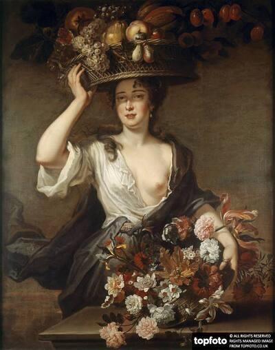 Woman as Flora
