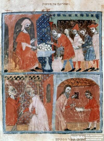 Passover scenes