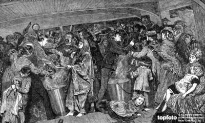 Emigrant ' s Feeding