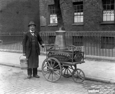 Mr Albert F Jefferys milkman