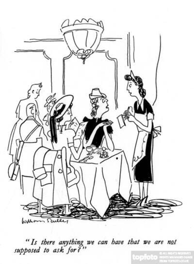 British World War II cartoon.