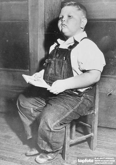'Chunky'!._x000D_ Five-year-old boy ways hundred and