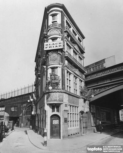 London's flat-iron building - The