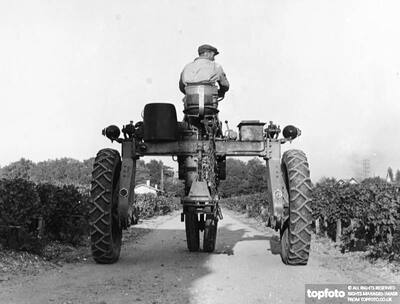 New French tractor prototype specially