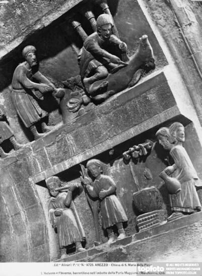Bas-relief with the representation of
