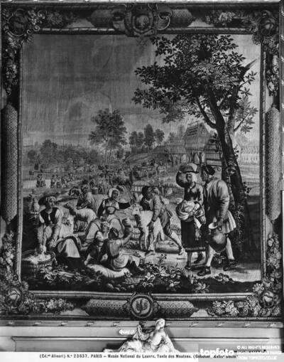 French tapestry depicting the Month