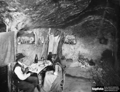 A cave: ancient Roman tomb,