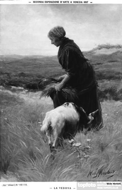 The widow, by Willem Martens,