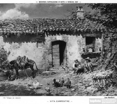 Country life, by José Benlliure,