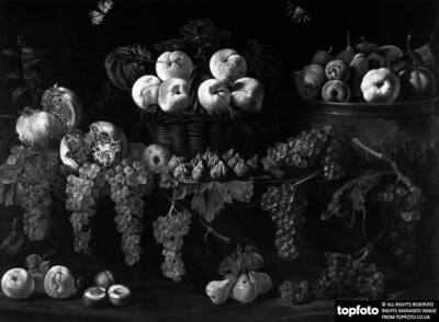 Still life with fruit and