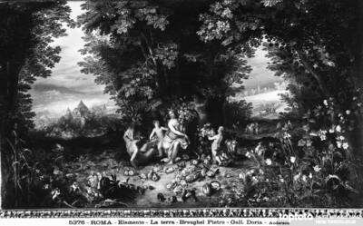 Allegory of Earth, by Pieter