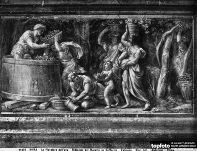 The wine-pressing, by Carlo Maratta,