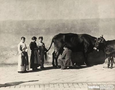 Milk vendor in Naples<datePhoto>1890 ca.</DatePhoto>