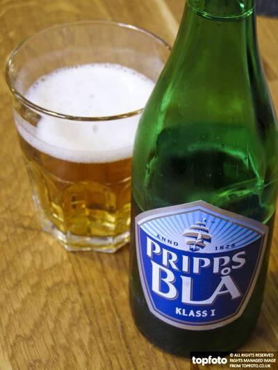 Pripps beer