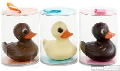 Chocolate ducks - Easter gift