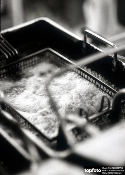 Deep frying