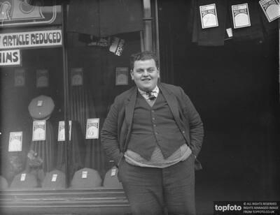 Bertie Walters - fat boy