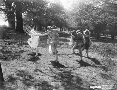 Dance on the grass