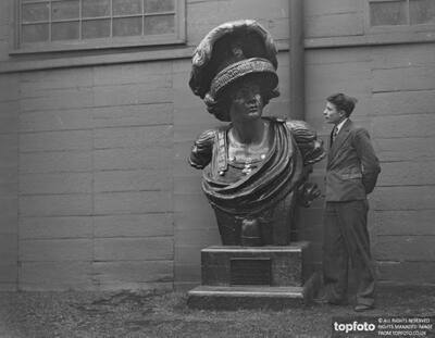 A large Bust of ' Fortitude '